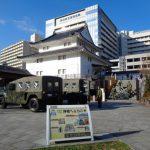 1/16(水) ~自衛隊第34普通科連隊も巽櫓を清掃~「駿府城公園周辺新年クリーン作戦」を行います。