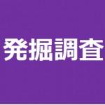2/24(土) 【発掘調査】平成29年度調査総まとめ 現場見学会を開催します!